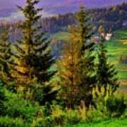 Beskidy Mountains Poster