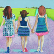 Best Friends Poster by Tracy L Teeter