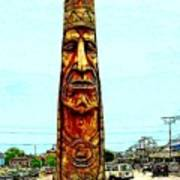 Bethany Beach Totem Poster