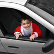 Bethlehem - Little Child During Christmas Festival Poster
