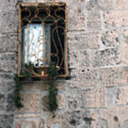 Bethlehem - Nativity Church Window Poster