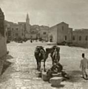 Bethlehem: Street, C1911 Poster