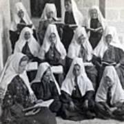 Bethlehem Women School 1900s Poster