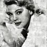 Betsy Palmer Vintage Hollywood Actress Poster