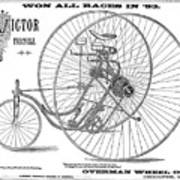 Bicycle, 1884 Poster