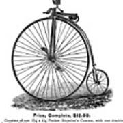 Bicycle Camera Ad, 1887 Poster by Granger