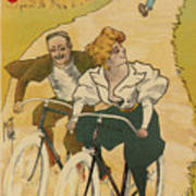 Bicycle Poster, 1895 Poster
