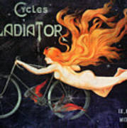 Bicycle Poster, C1905 Poster