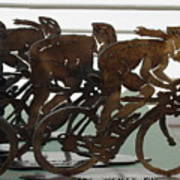 Bicycle Trophies Poster