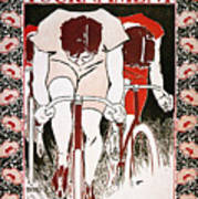 Bicycling Poster, 1896 Poster