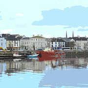 Bideford Quay North Devon Poster