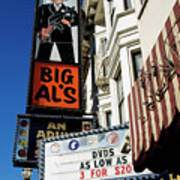 Big Al's Poster by Mary Capriole