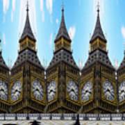 Big Ben Time Poster