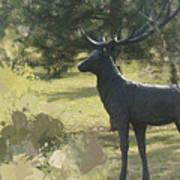 Big Deer Poster