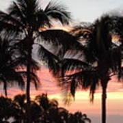 Big Island Sunset 1 Poster