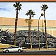 Big Lizard Poster