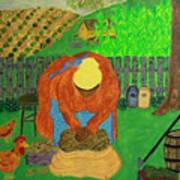 Big Mama Sorting Potatoes Poster