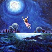 'big Moon Hug' Poster