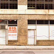 Big Orange Cleaners Poster