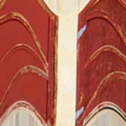 Big Red Doors Poster