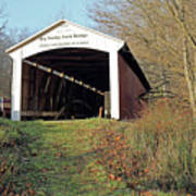 Big Rocky Fork Bridge Indiana Poster