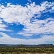 Big Sky In Pecos Valley Poster