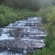Big Springs Waterfall Poster