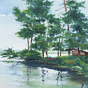 Big Wolf Lake Poster