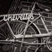 Bike Over Chevelles Poster