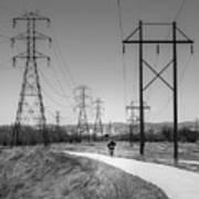 Bike Power On Platte Trail Poster