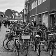 Bikes Of Skagen Poster