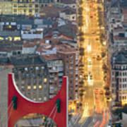 Bilbao Street Poster