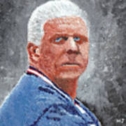 Bill Parcells Poster