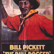 Bill Pickett (1870-1932) Poster by Granger
