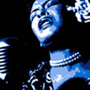 Billie Holiday Poster by DB Artist