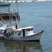 Bilouxi Shrimp Boat Poster
