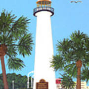 Biloxi Lighthouse Poster