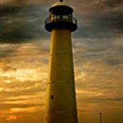 Biloxi Lighthouse Poster by Scott Pellegrin