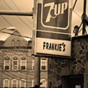 Binghampton New York - Frankie's Tavern Poster