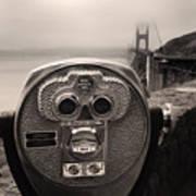 Binoculars Poster