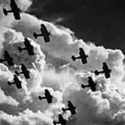Biplanes, C1917 Poster