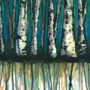 Birch Trees #1 Poster