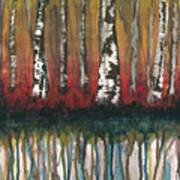 Birch Trees #2 Poster