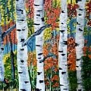 Birch Tree's Poster