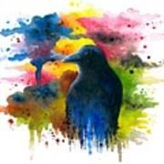 Bird 71 Crow Raven Poster