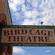 Bird Cage Theater Tombstone Poster