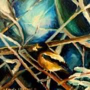 Bird In Winter Poster