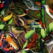 Birdland Poster by Joseph Mosley