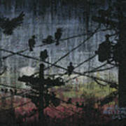 Birds 2 Poster by Arleana Holtzmann