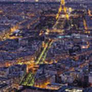 Bird's Eye On Paris 1 Poster